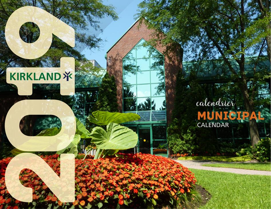 Calendrier City.Ville De Kirkland Calendrier Municipal